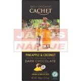 Cachet ananás-kokos horká čokoláda 100G