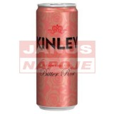 Kinley Tonic Bitter Rose 0,25l (plech)