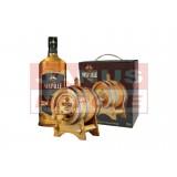 Nestville Whisky 40% 0,7L + Drevený súdok