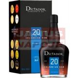 Dictador 20-ročný 40% 0,7L (kartón)