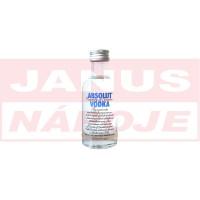 Mini Absolut Vodka 40% 0,05L