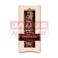 Čokoláda Premium s jabllkami a  malinami 100g