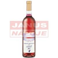 [VALENTA] Cabernet Sauvignon Rosé 0,75L [polosladké] [výberové] [2018]
