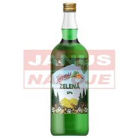 Pepermintový likér 27% 1,0L [OLD HEROLD]