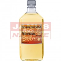 Vodka Koskenkorva Peach 21% 0,7L PET