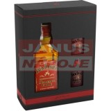 Jack Daniel's fire + 2 poháre 35% 0,7l