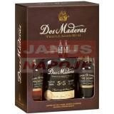 Rum Dos Maderas PX 5+5 set 40% 0,7l DB