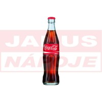Coca Cola 0,33L (sklo)