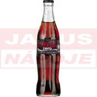Coca Cola Zero 0,33L (sklo)