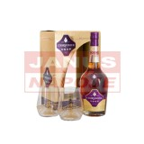 Courvoisier VSOP 40% 0,7l + poháre