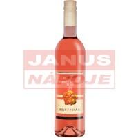 [MRVA+STANKO] Cabernet Sauvignon rosé 0,75L [suché] [akostné víno]