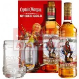 Captain Morgan Spiced 35% 0,7L DB+krígeľ