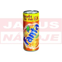 Fanta Orange plech 0,25L