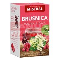 Mistral Brusnica / Malina / Baza čierna 40g