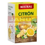 Mistral Citrón a zázvor 40g