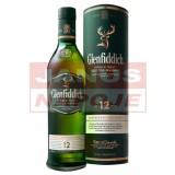 Glenfiddich 12-ročná 40% 0,7L