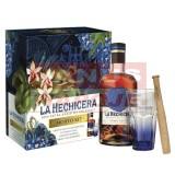 La Hechicera Mojito Kit 40% 0,7l (darčekové balenie 1 pohár,mojito set)