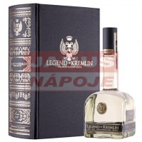 Vodka Legend of Kremlin 40% 0,7L kniha DB