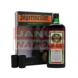 Jägermeister 1,75l + 2 poháre