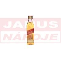 Mini Johnnie Walker Red 40% 0,05L /A