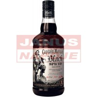 Captain Morgan Black Spiced 40% 1L