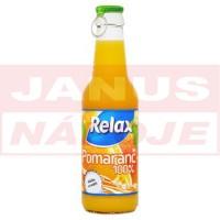 Relax Viečko Pomaranč 100% 0,25L (sklo)