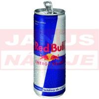 Redbull plech 0,25L