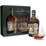 Diplomatico Rum 12-ročný 40% 0,7L + 2 poháre