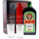 Jägermeister 35% 0,7L + 2 poháre (DB)
