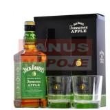 Jack Daniel's  Aplle 35% 0,7L (darčekové balenie 2 poháre)